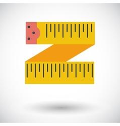 Centimetr icon vector