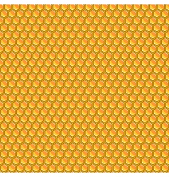 Design seamless honeycomb pattern vector