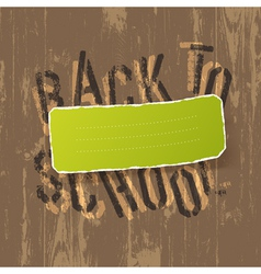 educational background back to school vector image