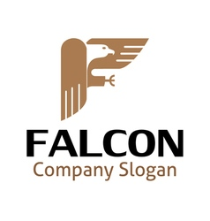 Falcon design vector