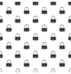 Gas half mask pattern simple style vector