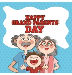 Grandparents design people vector image