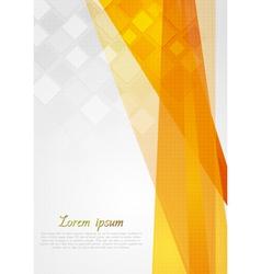 Colourful tech backdrop vector image