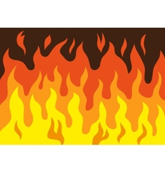 Fire - cartoon vector