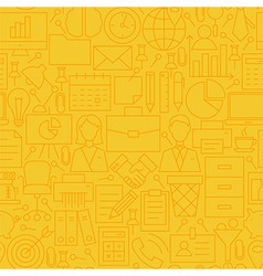 Thin yellow office business line seamless pattern vector