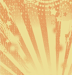 abstract background orange vector image vector image