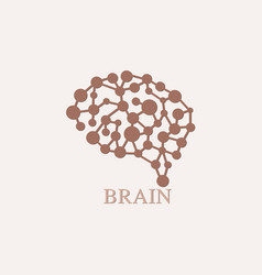 Brain logo design template icon vector