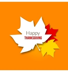 Happy thanksgiving day background with beautiful vector