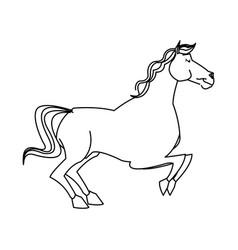 horse caurosel game carnival celebration image vector image vector image