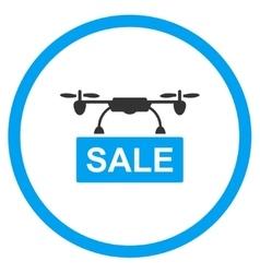 Nanocopter sale icon vector