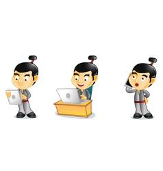Samurai 3 vector image