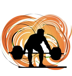 Bodybuilding vector