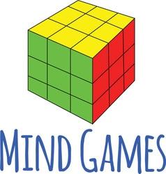 Mind games vector