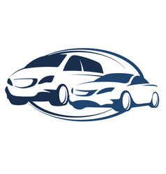 car rental vector image