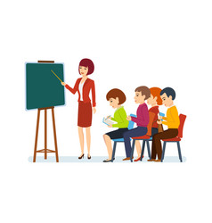 conferences on financial matters for audience vector image vector image