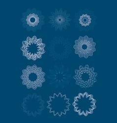 guilloche vector image