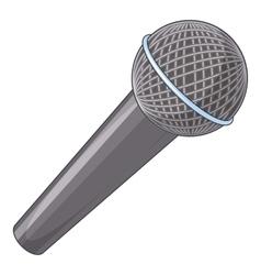 Microphone icon cartoon style vector image