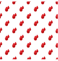 Two drops of blood pattern vector