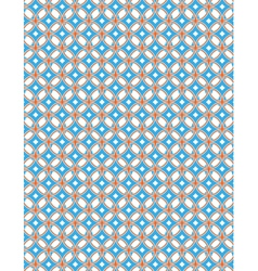 Blue Orange Pattern Background vector image vector image
