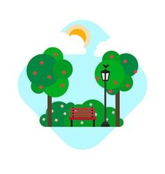 Park vector image