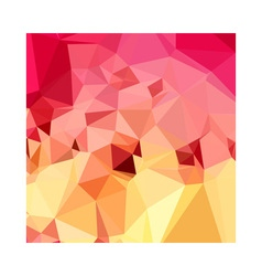 Rose bonbon pink abstract low polygon background vector