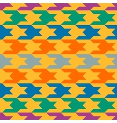 Abstract pattern with colorful figures vector image
