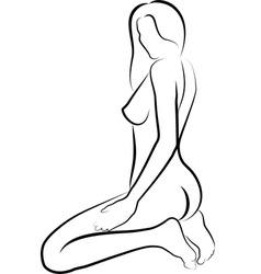 naked women vector image