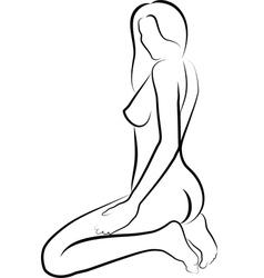 naked women vector image