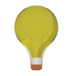 aerostat icon cartoon style vector image