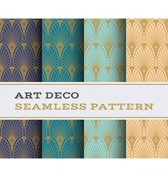 Art deco seamless pattern 07 vector