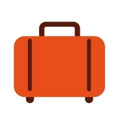 bag suitcase gaggage icon vector image