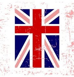 British flag vertical vector image vector image
