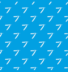 razor blade pattern seamless blue vector image vector image