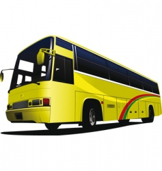 City bus 01 vector