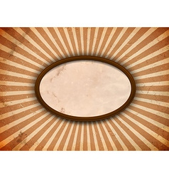 Ellipse frame with rays vector