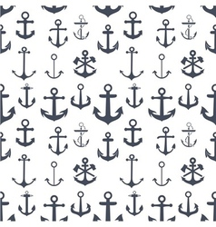 Anchors seamless background vector