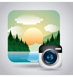 Photography concept design vector