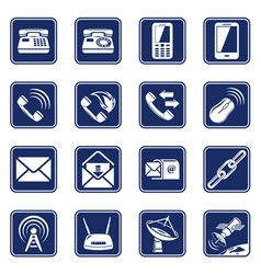 Connect icons vector