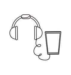 smartphone device icon image vector image