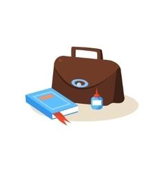 Teacher workplace education design vector