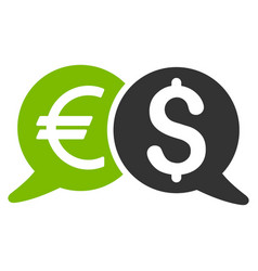international payments flat icon vector image