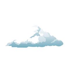 Cumulus cloud weather natural meteorology vector