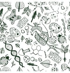 Biological Background vector image vector image