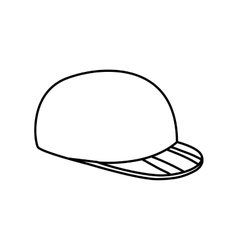 Golf hat icon Sport concept graphic vector image