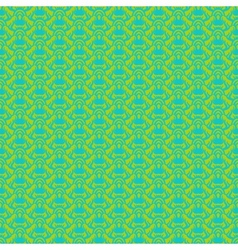 seamless pattern in tropical green vector image vector image
