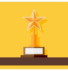 Star award icon vector image
