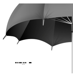 umbrella protection concept vector image