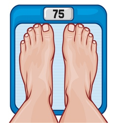 Feet on the scale vector