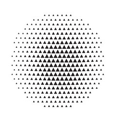 Circle halftone background vector