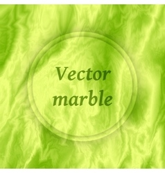 Abstract green marble background marbling texture vector